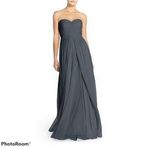 JENNY YOO Convertible Strapless Gown